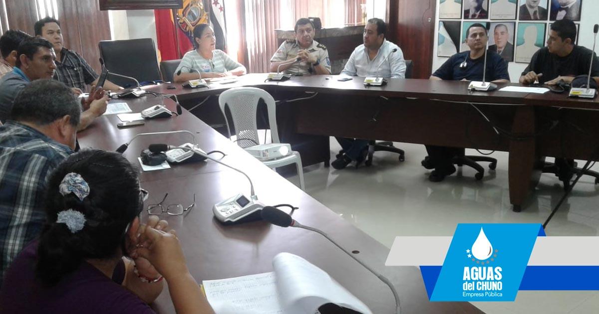 Acciones de contingencia por suspensión del servicio de agua potable