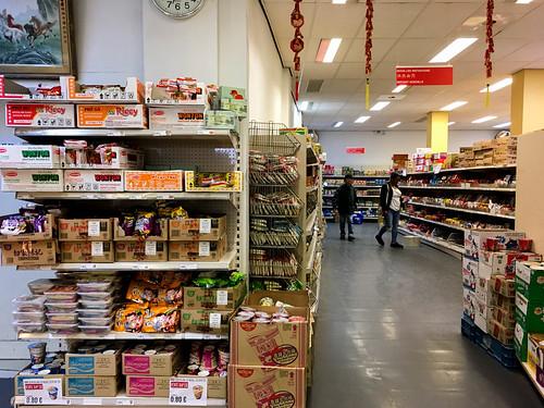 Supermercado asiático en Bruselas