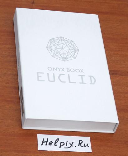 Электронная книга ONYX BOOX Euclid - упаковка
