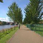 Miller Park walkway