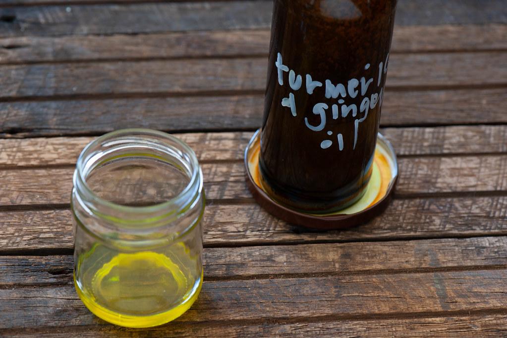 Ginger Turmeric Oil