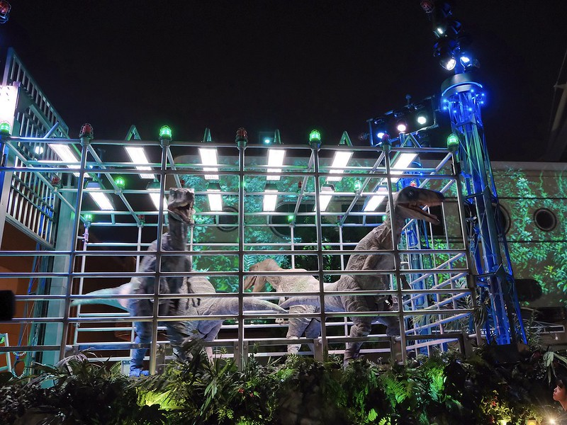 Jurassic World USJ Halloween Night Parade