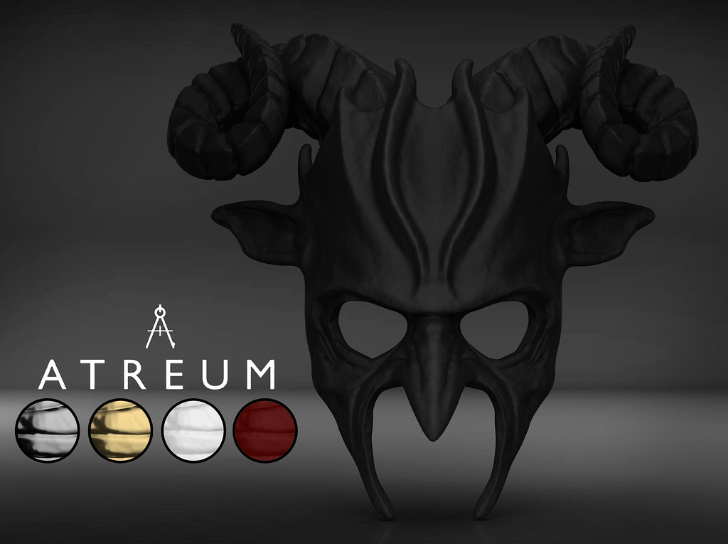 Atreum – Devil's Horns Mask Release!