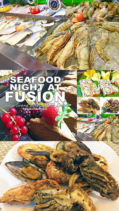 Seafood Night at Fusion