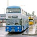 Derby City Transport: 51 (NAL51P) in an appropriately named Wetmore Road Bus Station, Burton on Trent