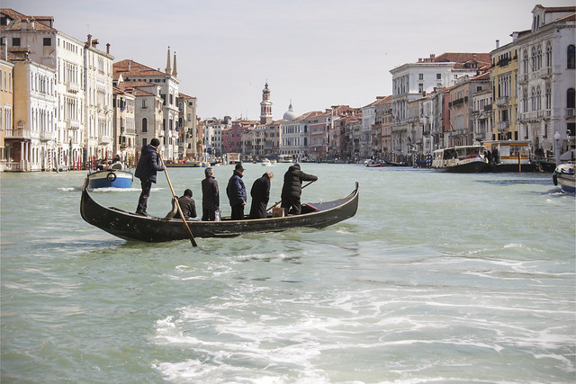 Fine day on the Grand Canal