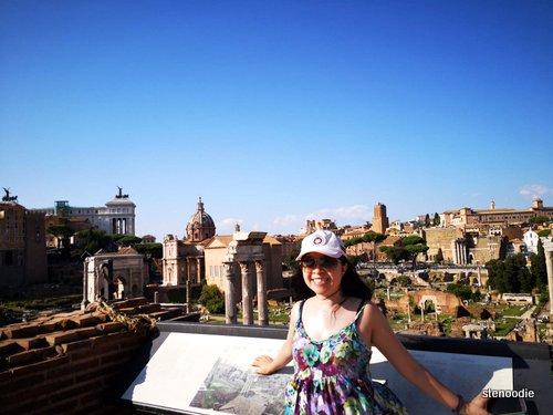 Roman Forum views