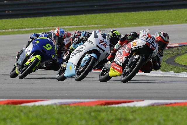 Moto3: Макар Юрченко финишировал в 4-х секундах от подиума на Гран-при Малайзии