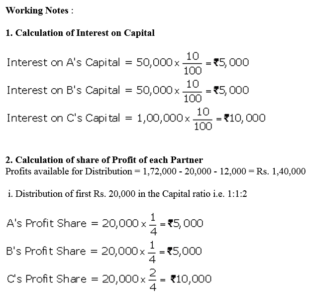 TS Grewal Accountancy Class 12 Solutions Chapter 1 Accounting for Partnership Firms - Fundamentals Q48.2
