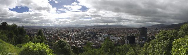 Panorámica de Bogotá DC