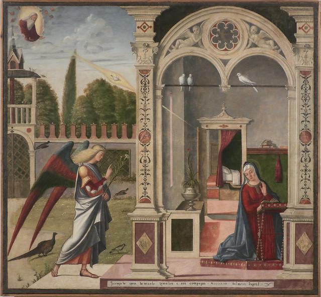 Annunciazione, Vitore Carpaccio, 1460-1523(26)