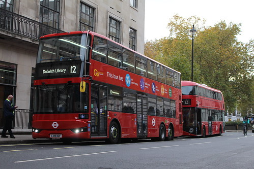 London Central TA1 on Route 12, Oxford Circus