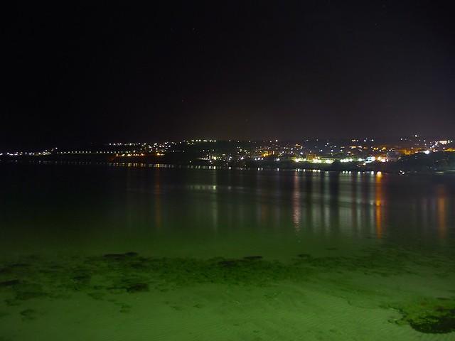 mar de noche.Xaniá