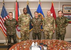 Gen Pujol of Brazil and team visit RDECOM HQ-2