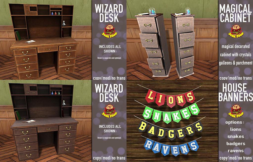 Junk Food - Wizard Wares Ad - TeleportHub.com Live!