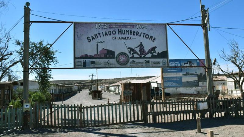 Kota Hantu Humberstone di Chili