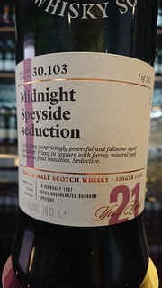 SMWS 30.103 - Midnight Speyside seduction