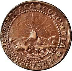 1787 Brasher Doubloon Electrotype obverse