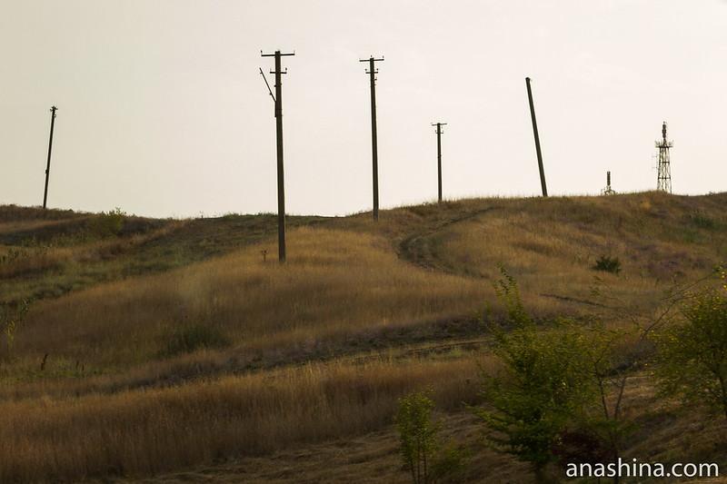 Окрестности грязевого вулкана Миска, Темрюк