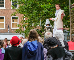 YMPST waggon play performance, St Sampson's Square, 16 September 2018 - 08
