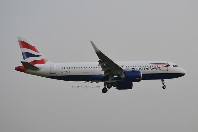 British Airways G-TTNB Airbus A320-251N cn/8139 @ EGLL / LHR 25-05-2018