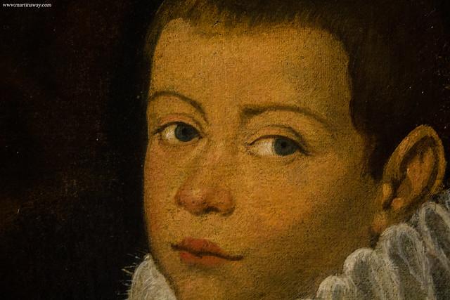 Ritratto di Giorgio Piloni con il figlio Odorico (?), Cesare Vecellio