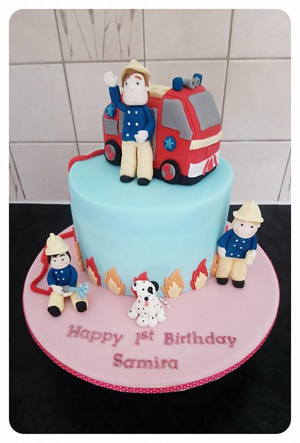 Fireman Sam Birthday Cake by Sprinkles And Crumbs