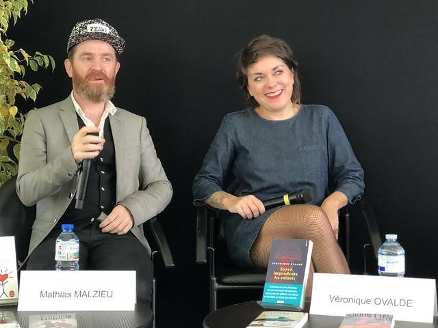 Mathias Malzieu et Véronique Ovaldé
