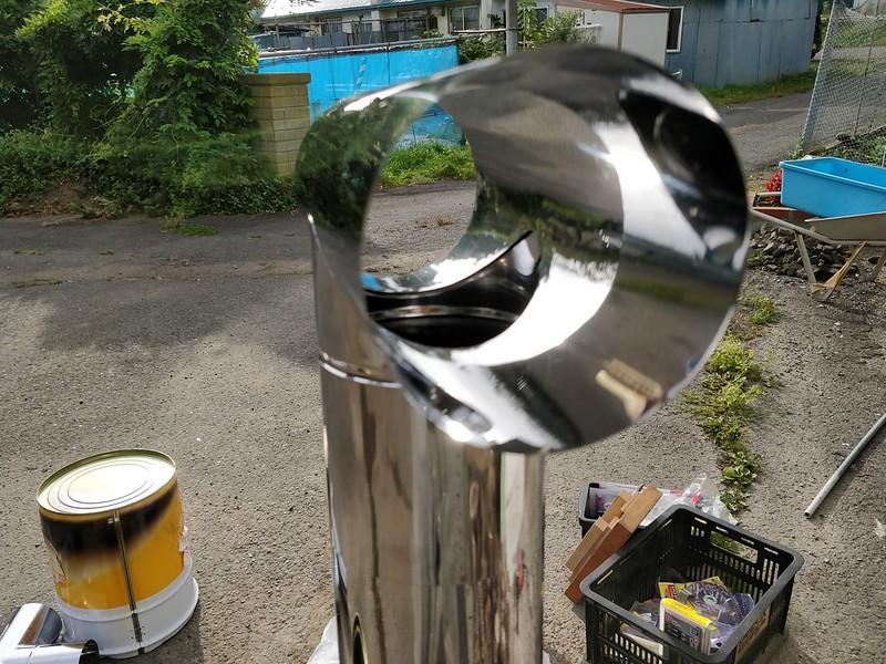 ビニールハウス用のストーブを作る (25)