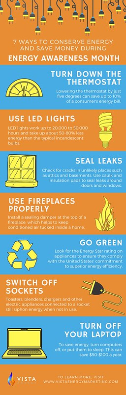 Vista Infographic - Energy Awareness Month