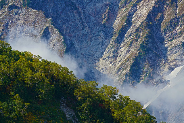 Autumnal mountains, From Happo-One 4, Sony ILCE-7RM2, Sony FE 70-200mm F4 G OSS