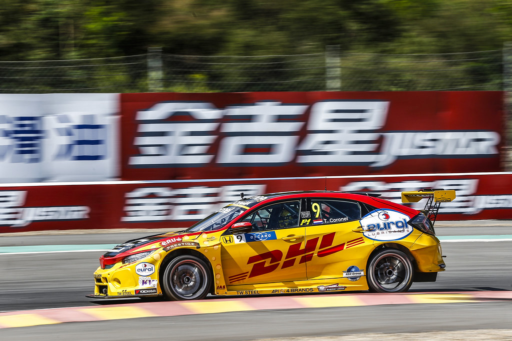 09 CORONEL Tom, (nld), Honda Civic TCR team Boutsen Ginion racing, action during the 2018 FIA WTCR World Touring Car cup of China, at Ningbo  from September 28 to 30 - Photo Jean Michel Le Meur / DPPI