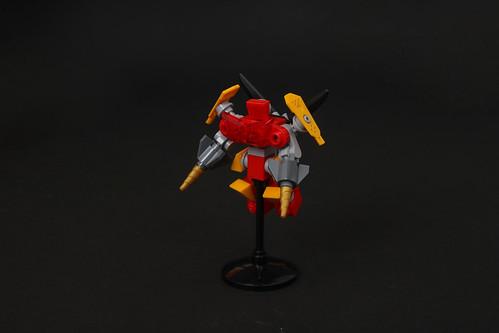 Celestial Barracuda - Crimson Mech