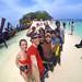 1. Todos juntos de excursión por Tailandia en una de sus islas
