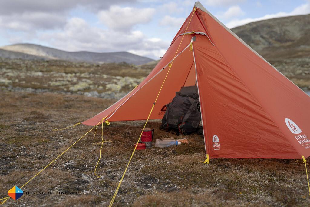 Tent break