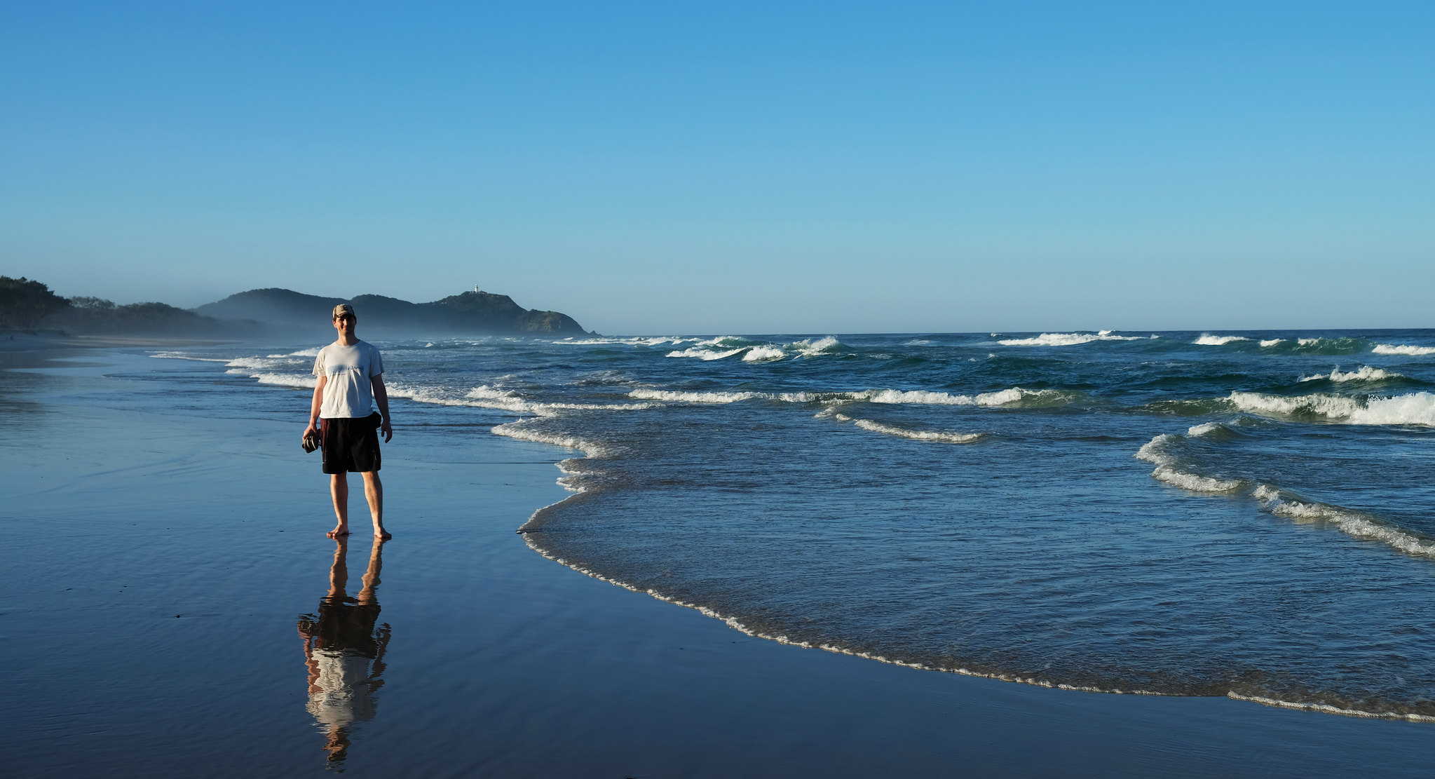 Tallows Beach, Byron Bay, New South Wales, Australia