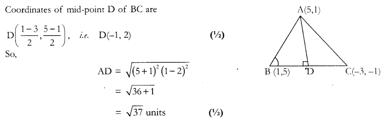 CBSE Sample Papers for Class 10 Maths Paper 12 Q 6