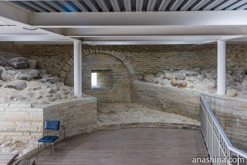 Внутри Раскатной башни, Старая Ладога