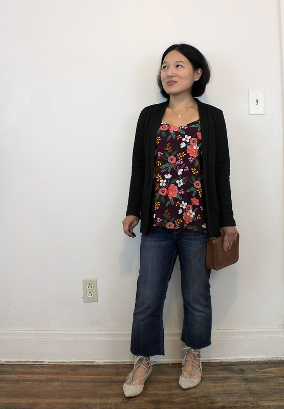 #1garment3ways: Blackwood Cardigan #1