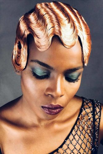 Chic Finger Waves Hairstyles That Are Best Trend 4