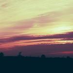 2018:10:17 17:39:00 - Sonnenuntergang Pano - Tarbek - Schleswig-Holstein - Germany