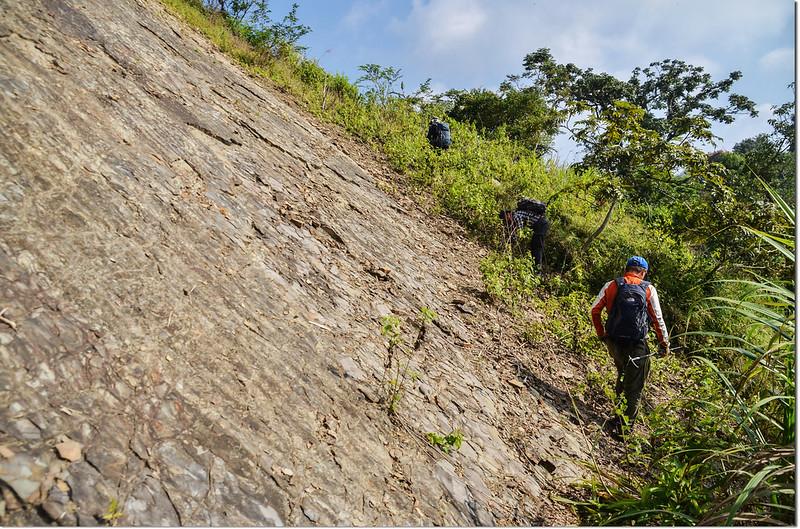 小林山登山步道崩塌地形 1