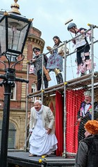 YMPST waggon play performance, St Helen's Square, 16 September 2018 - 08