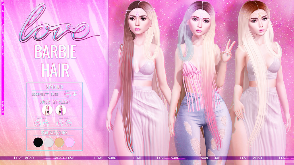 Love [Barbie] Hair – Hair Fair 2018!