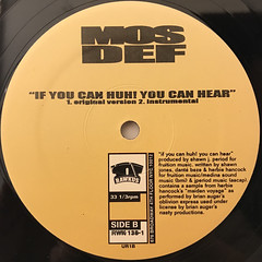 MOS DEF:THE UNIVERSAL MAGNETIC(LABEL SIDE-B)