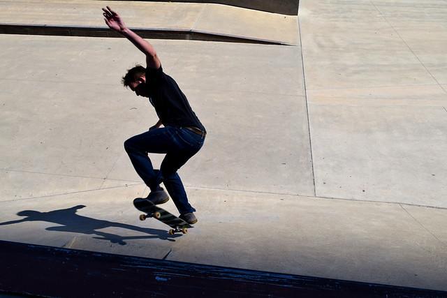 Skateboarder, Chicago, 2018