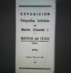 Martín Chambi nos muestra como vió Chile en 1936   proyecto de investigación de CENFOTO UDP