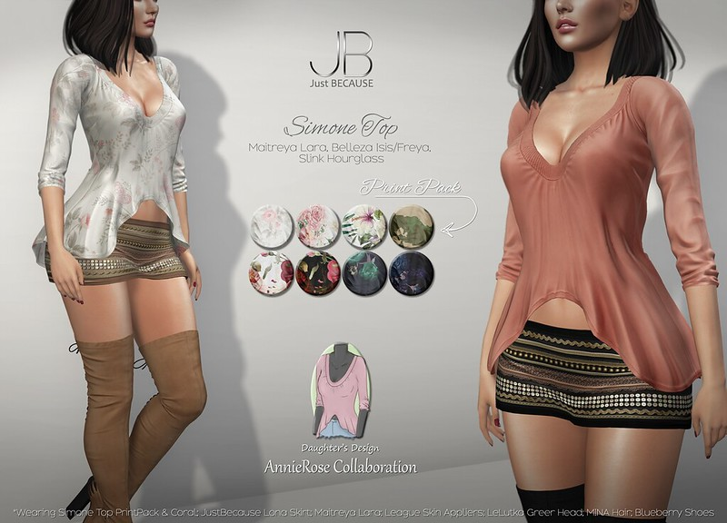 NEW! Simone Top - AnnieRose Collaboration at Uber!