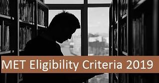 MET eligibility criteria 2019