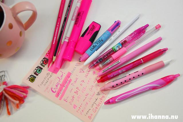 Pink pens - pen test